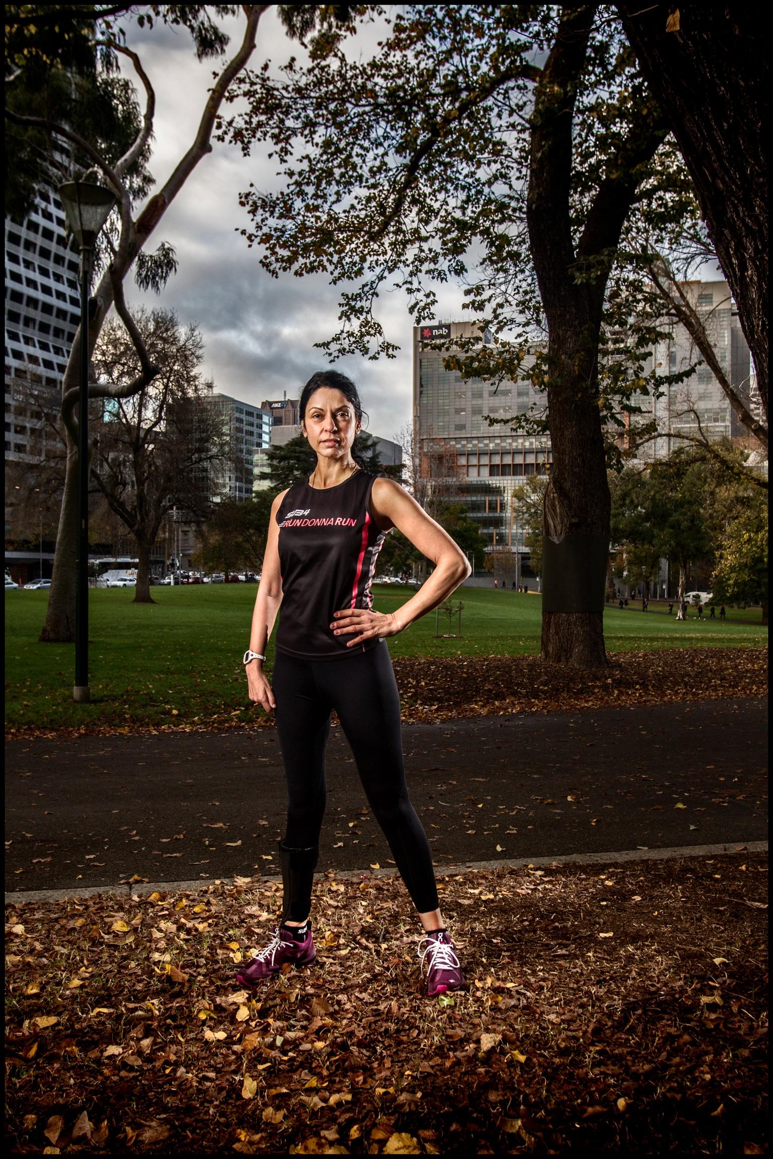 The Power is in Me Marathon Runner Run Donna Run Donna Campisi
