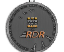 Run Your Own Race with RDR medal, Run Donna Run, Donna Campisi, virtual race