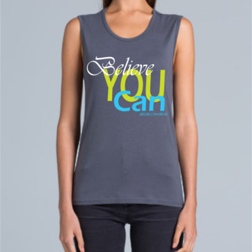 RunDonnaRun 'Believe YOU Can' tank