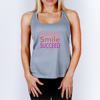 RunDonnaRun 'Sweat Smile SUCCEED' tank