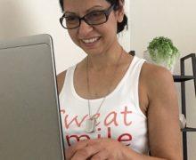 The Unlikely Marathoner, Donna Campisi, Run Donna Run, author